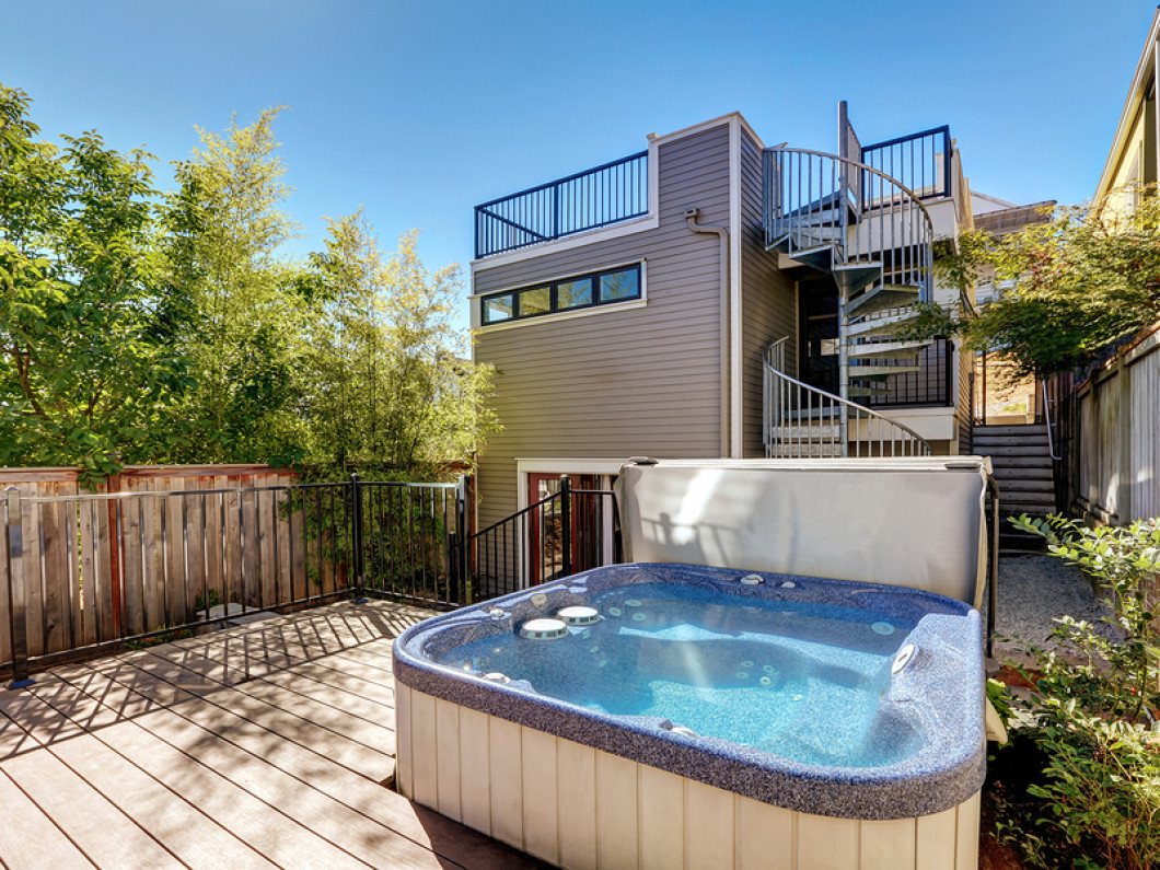 Unwind in a Luxurious New Hot Tub
